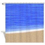 Beach Coast Shower Curtain