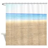 Sea and Sand Beach Shower Curtain