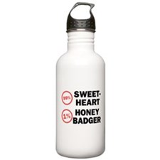 Sweetheart vs. Honey Badger Water Bottle