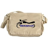 BikerCaged Logo Messenger Bag