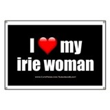 """Love My Irie Woman"" Banner"