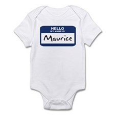 Hello: Maurice Infant Bodysuit