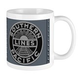 The Train Panel Coffee Small Mug