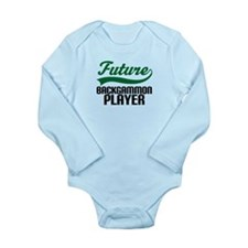 Future Backgammon Player Long Sleeve Infant Bodysu