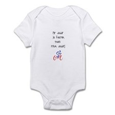 Faster Daddy Body Suit