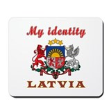 My Identity Latvia Mousepad