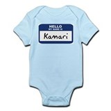 Hello: Kamari Infant Bodysuit