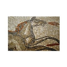 """Bath Mosaic"" Rectangle Magnet"