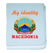 My Identity Macedonia baby blanket