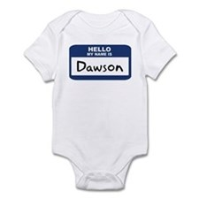 Hello: Dawson Infant Bodysuit