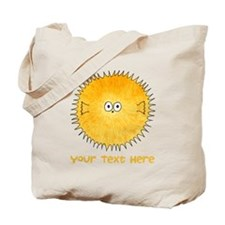 Pufferfish. Add Your Text. Tote Bag