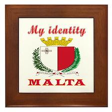 My Identity Malta Framed Tile
