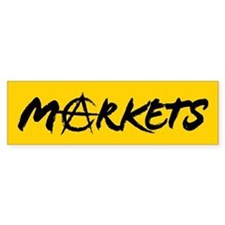 Markets Bumper Bumper Sticker