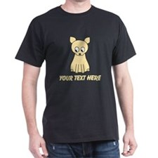 Cream Color Cat with Text. T-Shirt