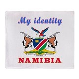 My Identity Namibia Throw Blanket