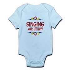 Singing Happy Life Infant Bodysuit