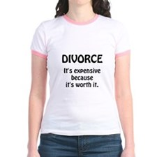 Divorce Worth It T-Shirt