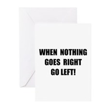 Nothing Goes Right Greeting Cards (Pk of 20)