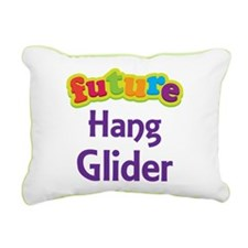 Future Hang Glider Rectangular Canvas Pillow