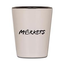 Markets Shot Glass