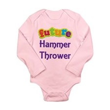 Future Hammer Thrower Long Sleeve Infant Bodysuit