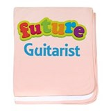 Future Guitarist baby blanket