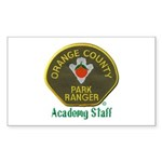 Orange County Ranger Academy Staff Sticker