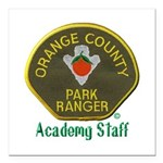 Orange County Ranger Academy Staff Square Car Magn