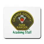 Orange County Ranger Academy Staff Mousepad