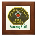 Orange County Ranger Academy Staff Framed Tile