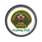 Orange County Ranger Academy Staff Wall Clock