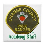 Orange County Ranger Academy Staff Tile Coaster