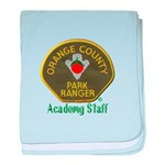 Orange County Ranger Academy Staff baby blanket