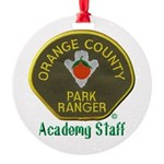 Orange County Ranger Academy Staff Ornament