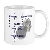 BOUVIER CROSSWORD Mug