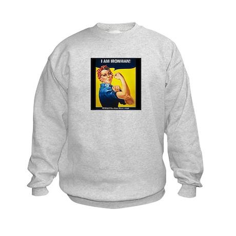 Rosie Ironman Blackground Sweatshirt