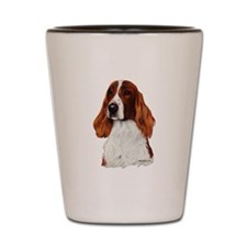 Irish Red & White Setter Shot Glass