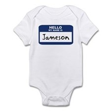 Hello: Jameson Infant Bodysuit