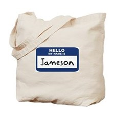 Hello: Jameson Tote Bag