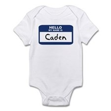 Hello: Caden Infant Bodysuit
