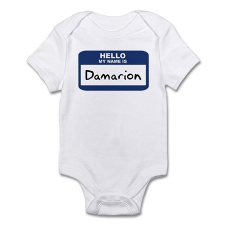 Hello: Damarion Infant Bodysuit