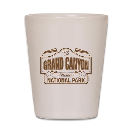 Grand Canyon National Park Shot Glass