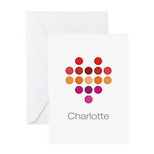 I Heart Charlotte Greeting Card