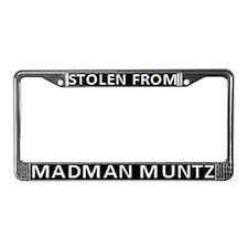 Madman Muntz License Plate Frame