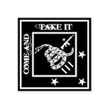 """Come and Take It - Black Diamond - Sticker 3"""""""