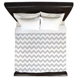 Grey chevron King Duvet Covers