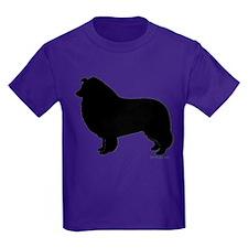 Rough Collie Silhouette T-Shirt