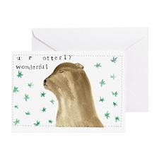 U R OTTERLY WONDERFUL Greeting Card