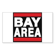 bayarea red Decal