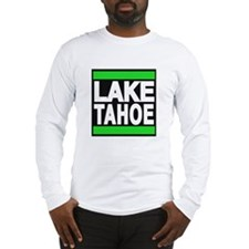 lake tahoe green Long Sleeve T-Shirt